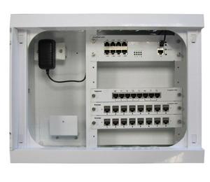 Coffret multimédia switch+ - Platine Réseaux